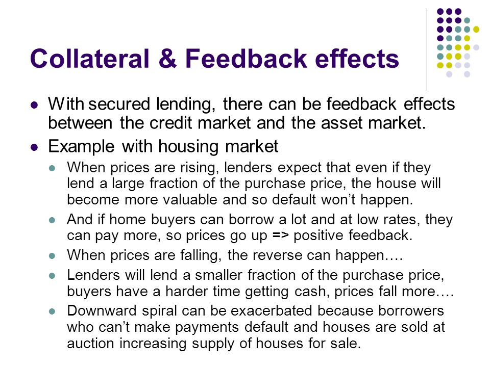 Collateral & Feedback effects