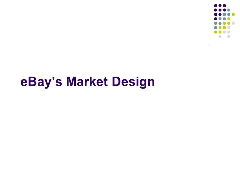 eBay's Market Design
