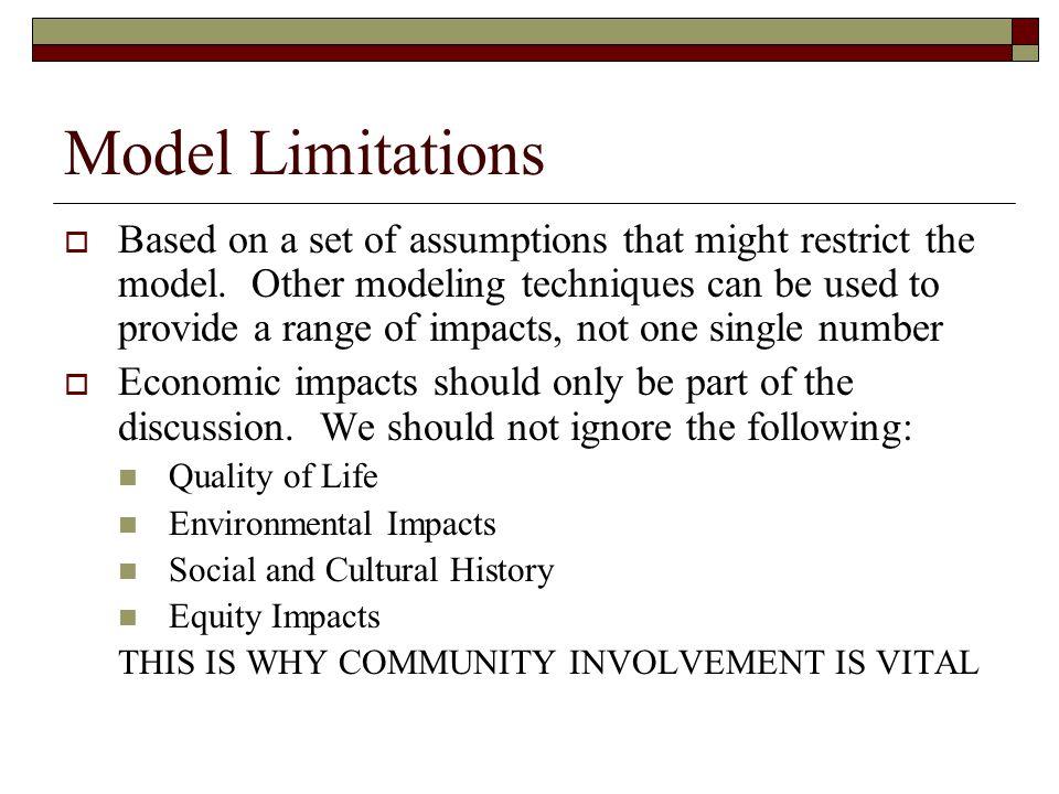 Model Limitations