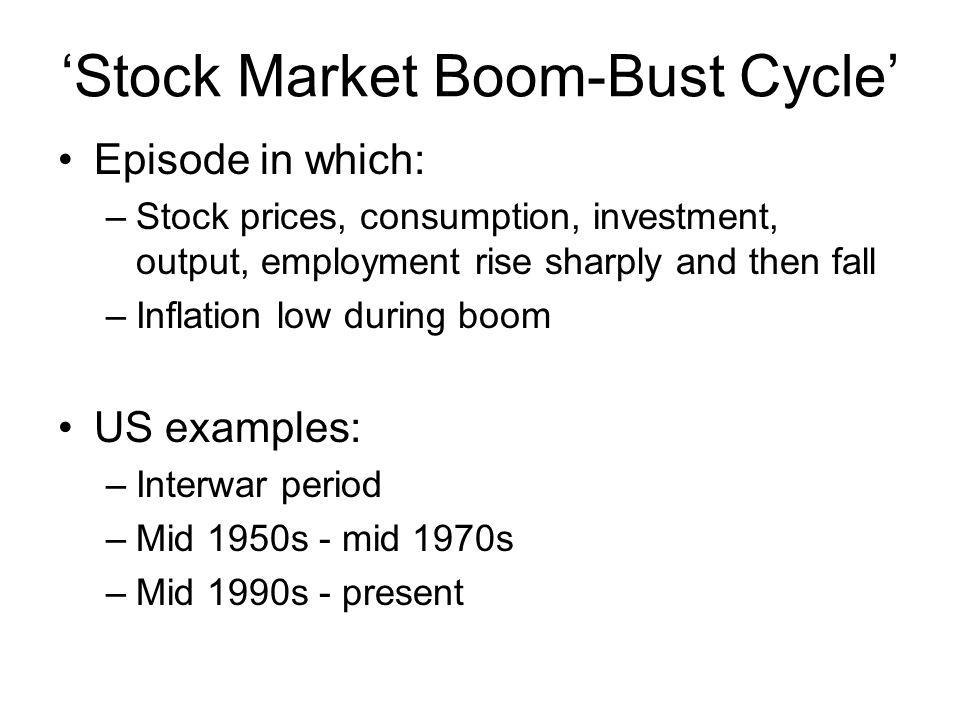 'Stock Market Boom-Bust Cycle'