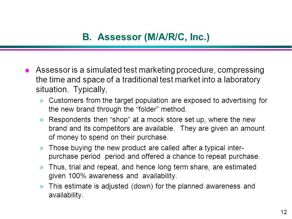 B. Assessor (M/A/R/C, Inc.)
