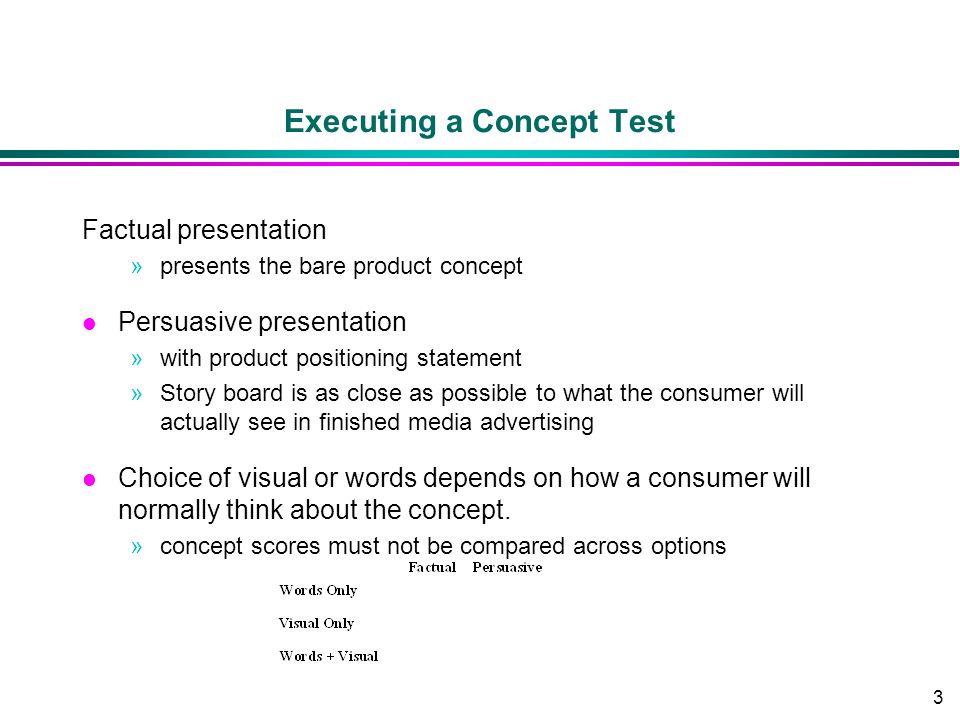 Executing a Concept Test