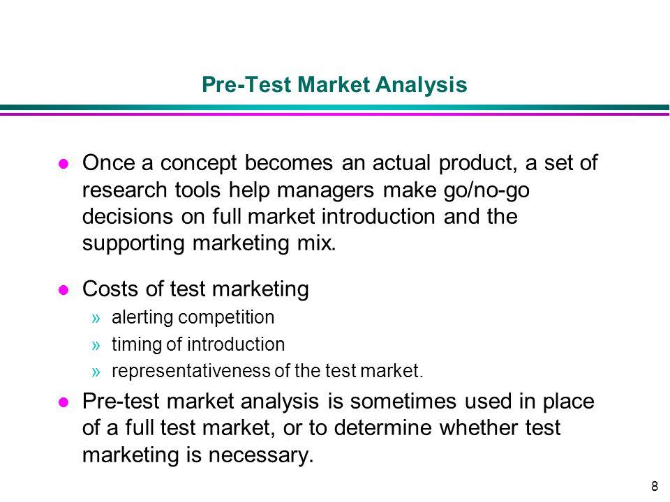 Pre-Test Market Analysis