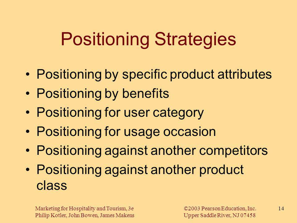 Positioning Strategies