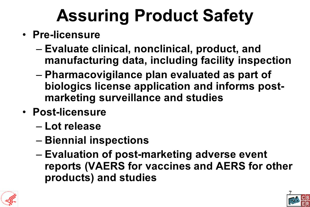 Assuring Product Safety