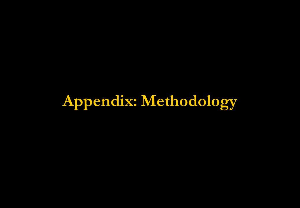 Appendix: Methodology