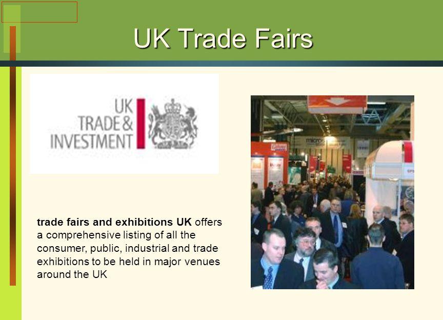 UK Trade Fairs