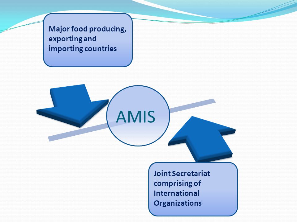 AMIS Major food producing, exporting and importing countries