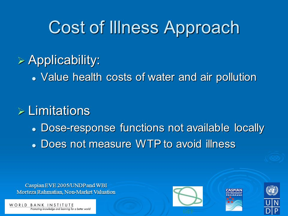 Cost of Illness Approach