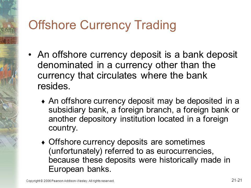 Offshore Currency Trading