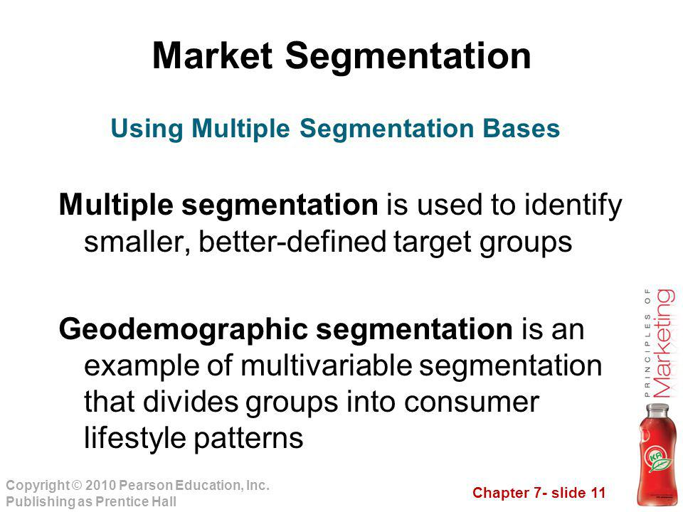 Using Multiple Segmentation Bases