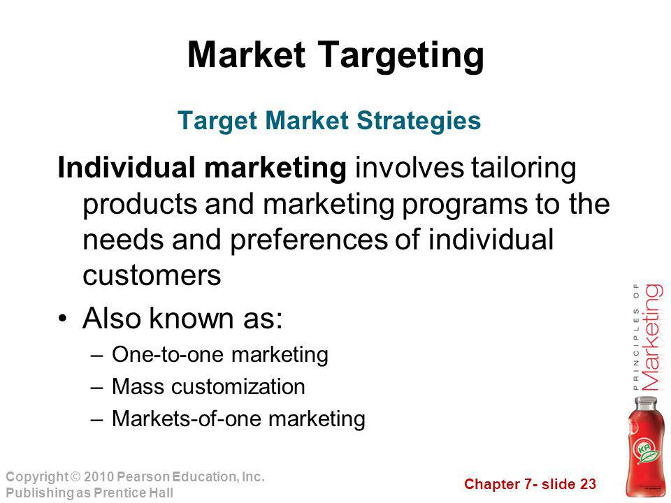 Target Market Strategies