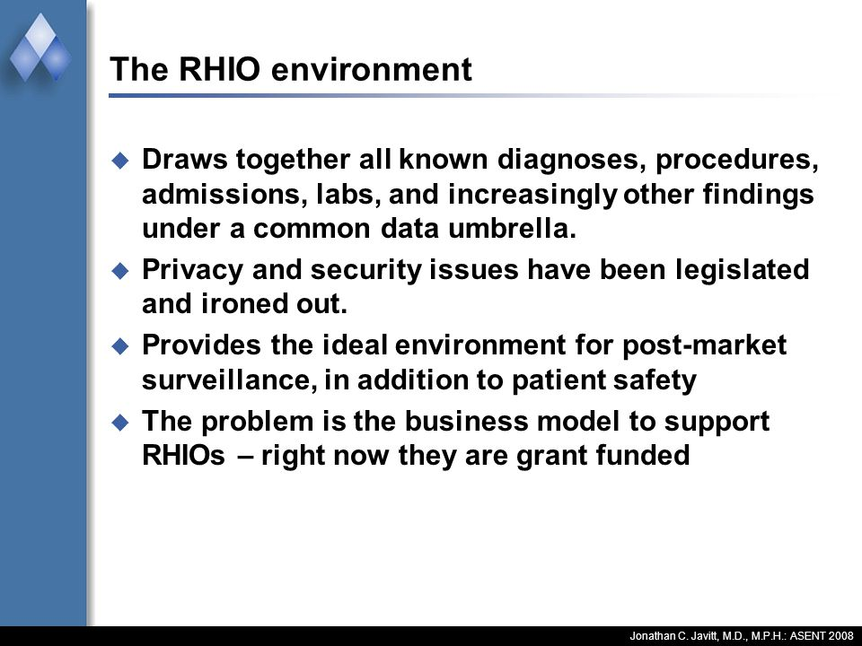 Business Case for RHIOS