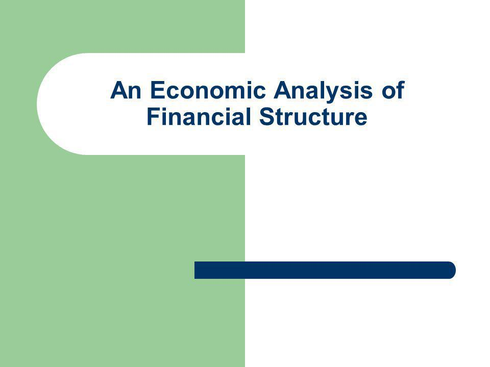 An Overview Of The Financial System Ppt Video Online