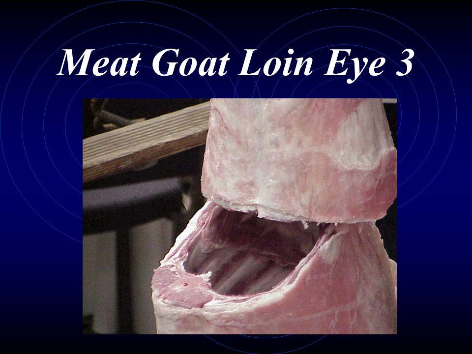 Meat Goat Loin Eye 3