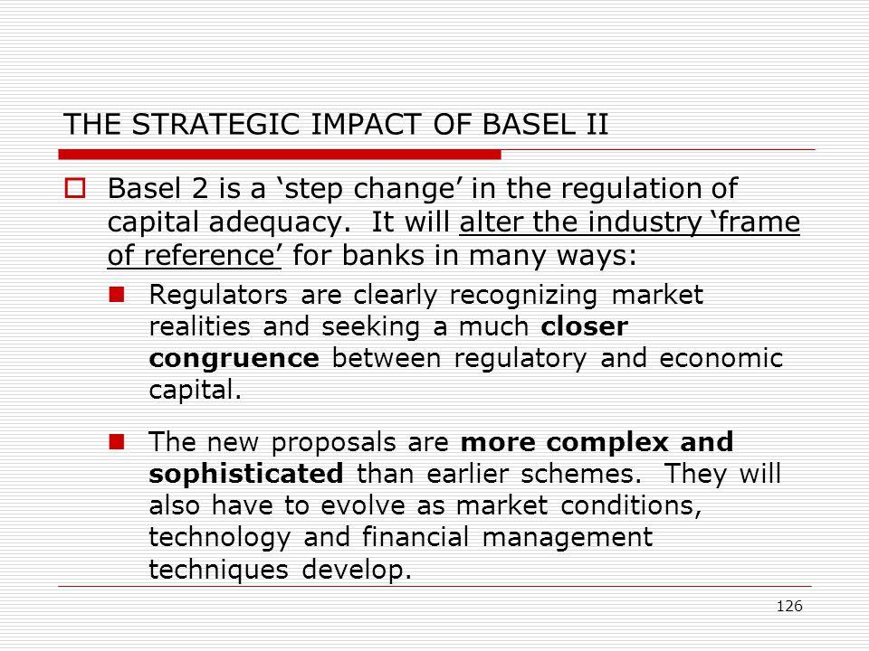 THE STRATEGIC IMPACT OF BASEL II