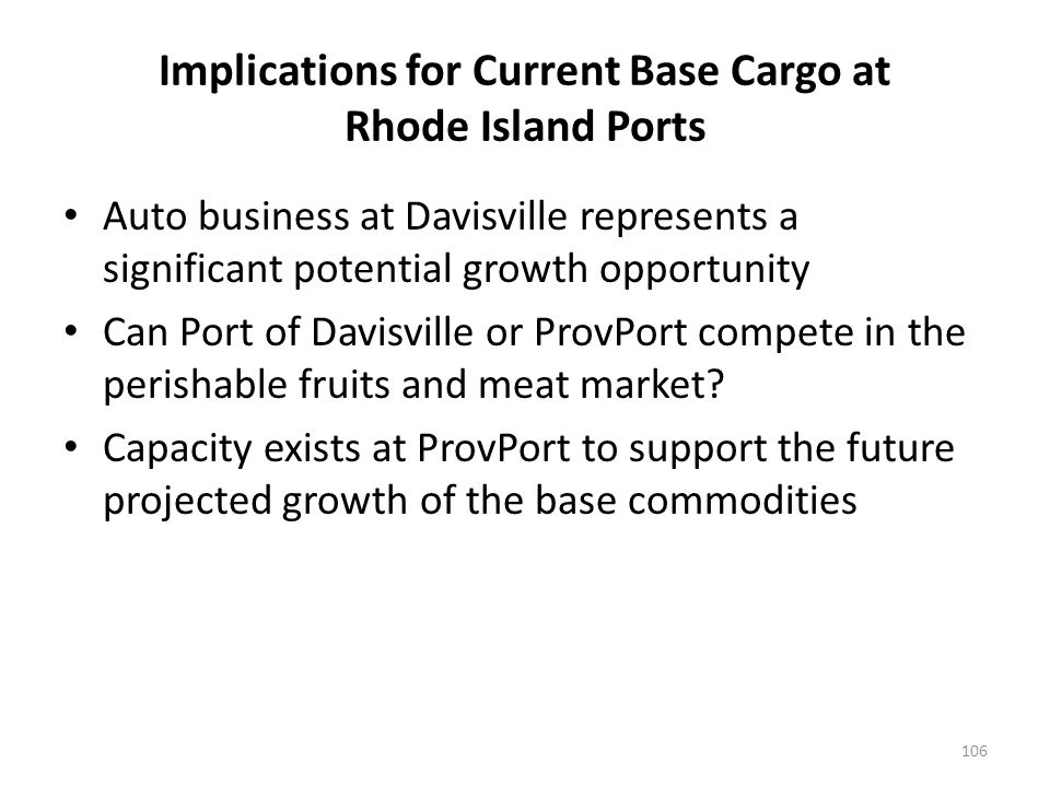 CARGO MARKET OPPORTUNITIES