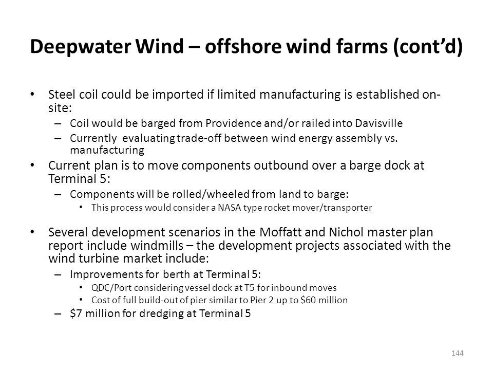 Cape Wind – offshore wind farms