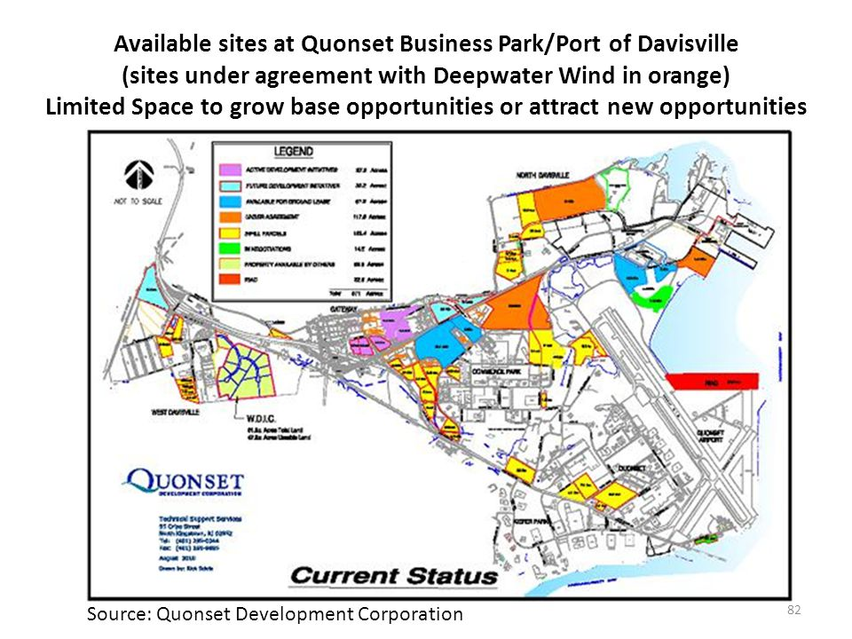 Automobiles Davisville is 3rd largest auto port in the Northeast (8th in North America): 135,575 import units in 2010.