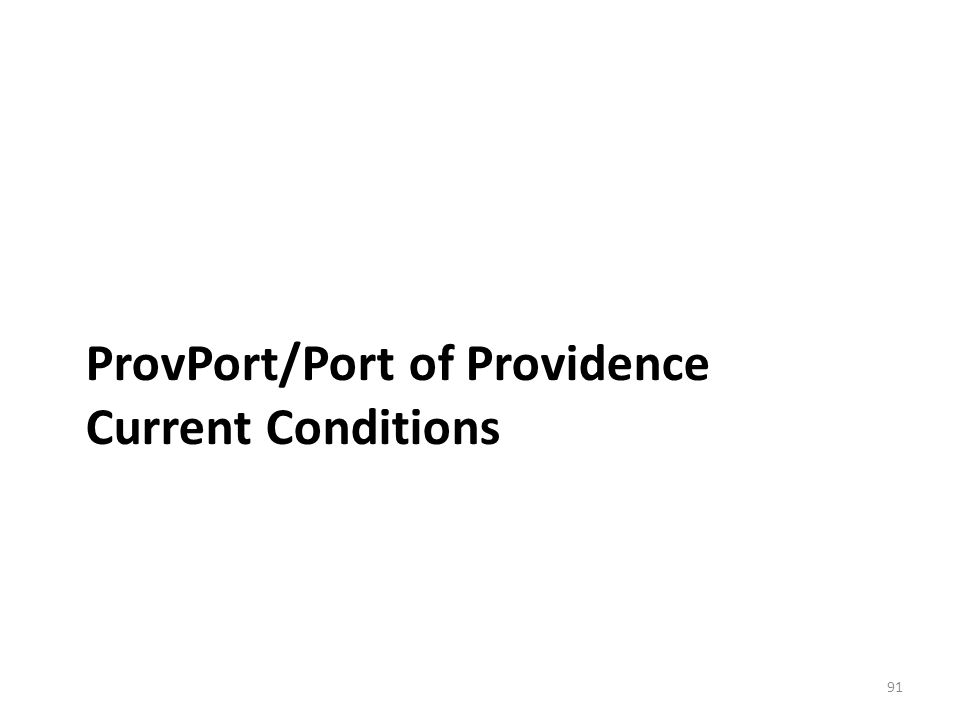 ProvPort is a privately operated marine terminal in Providence