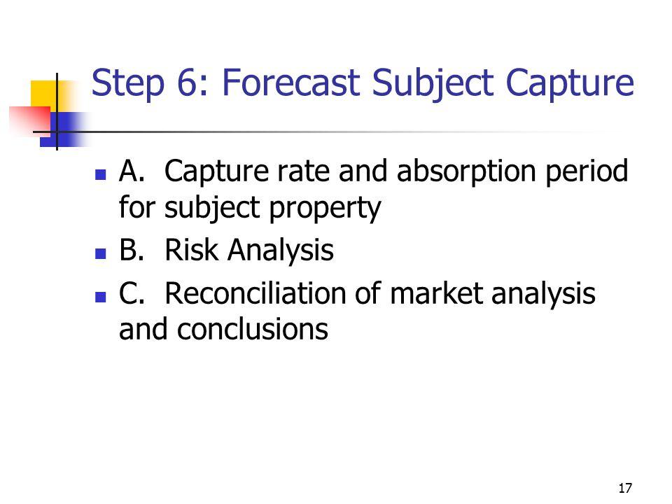 Step 6: Forecast Subject Capture