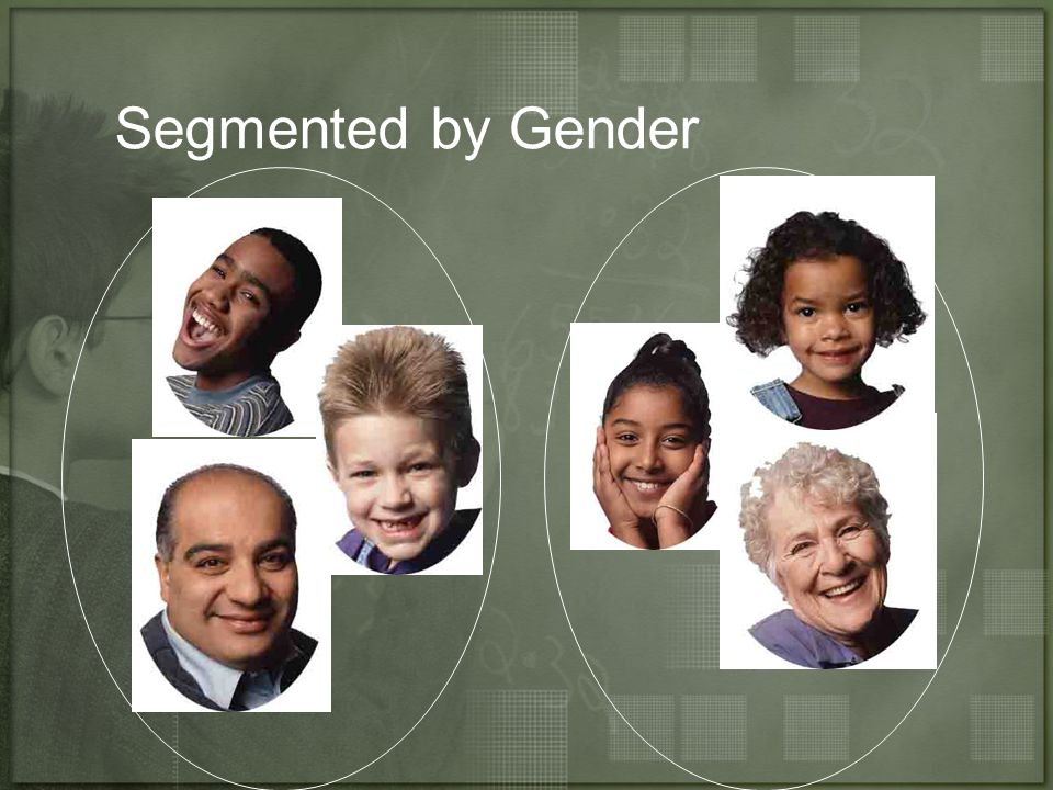 Segmented by Gender