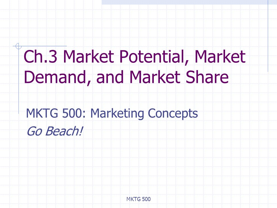 market demand potential Market potential, quite simply, is the total demand for a product in a given business environment so if you were going to write a book on business, you will check all the books written on business and the sales they had that is your market potential.