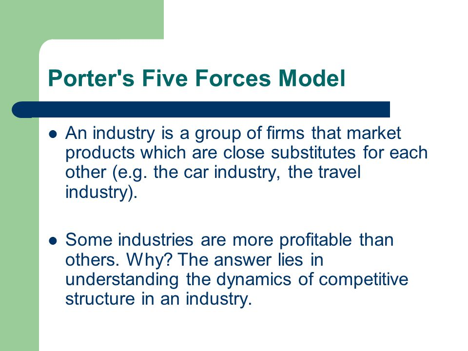 porters 5 forces for the european tourism industry Opinions expressed by forbes contributors are their own altria in the us tobacco industry -- a porter's five forces analysis european large.