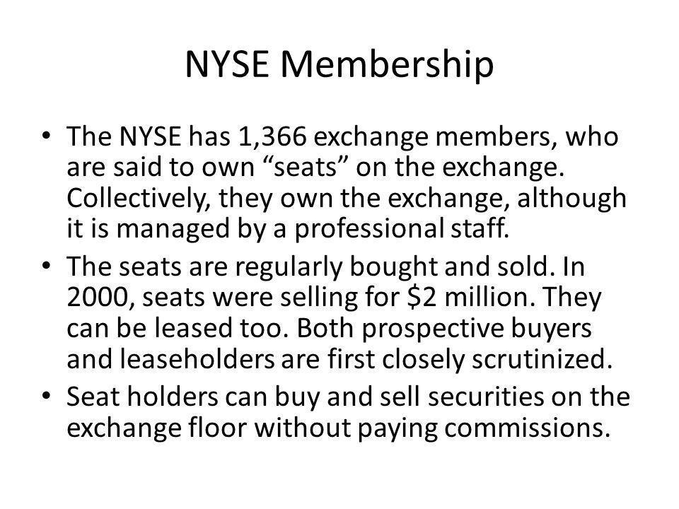 NYSE Membership