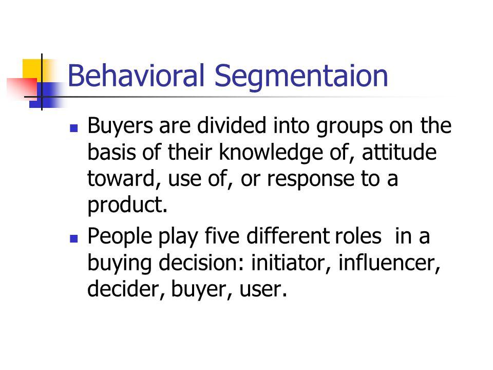 Behavioral Segmentaion