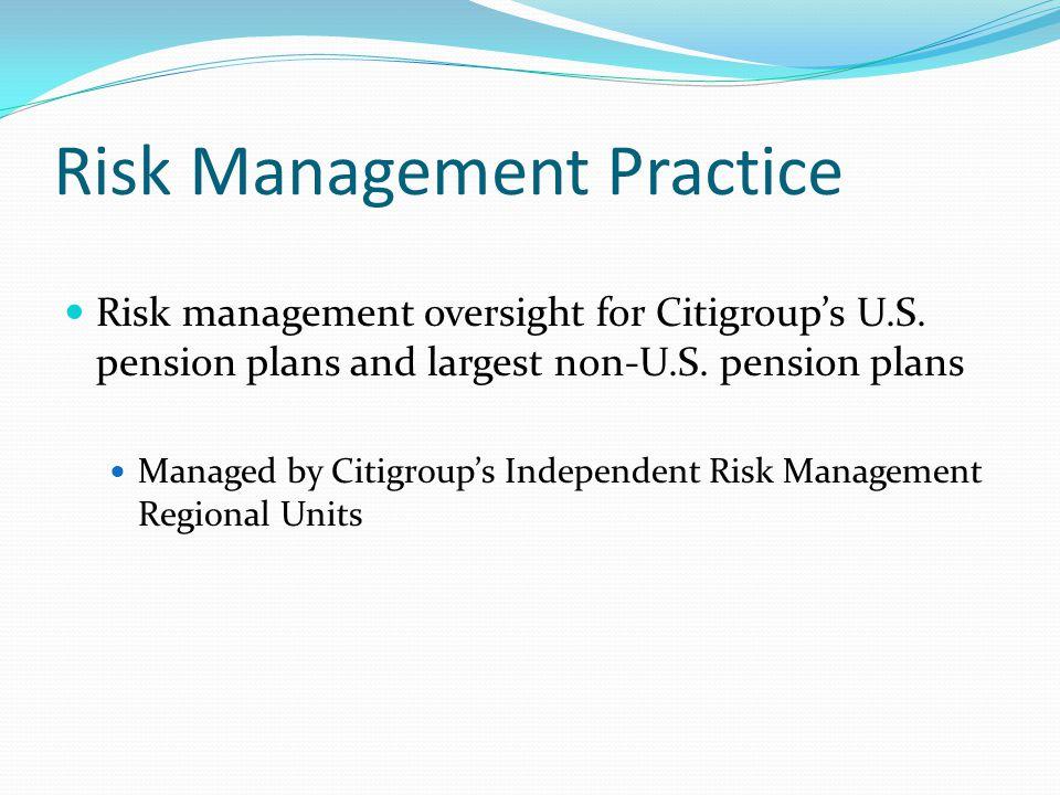 Risk Management Practice