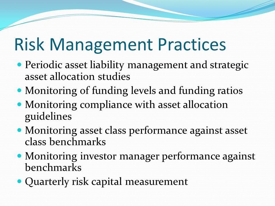 Risk Management Practices