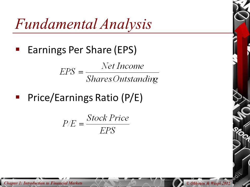 Fundamental Analysis Earnings Per Share (EPS)