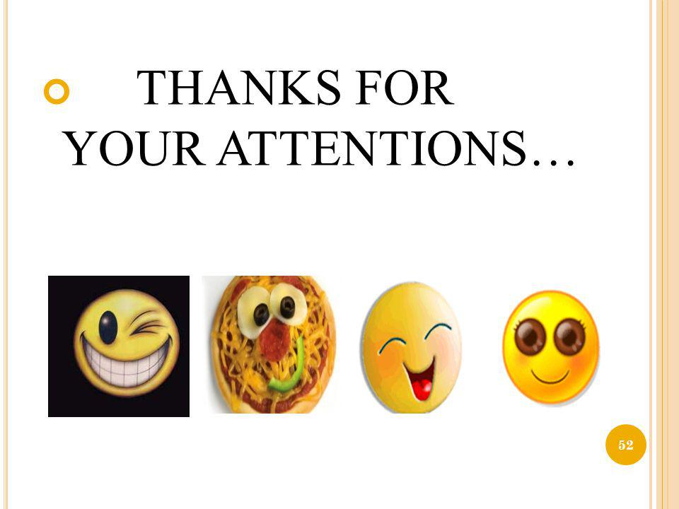 THANKS FOR YOUR ATTENTIONS…