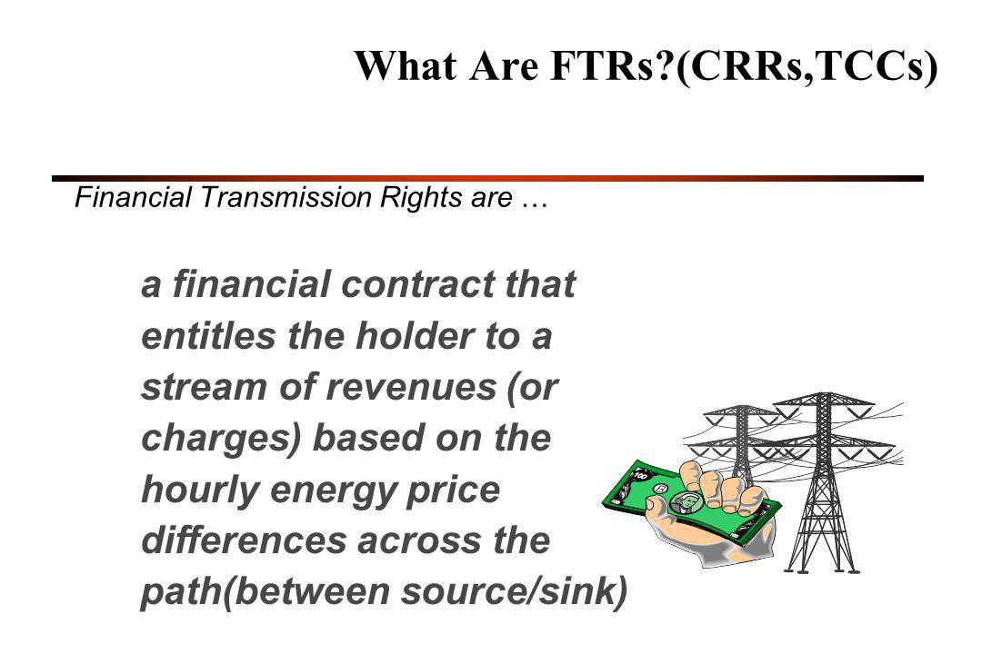 What Are FTRs (CRRs,TCCs)