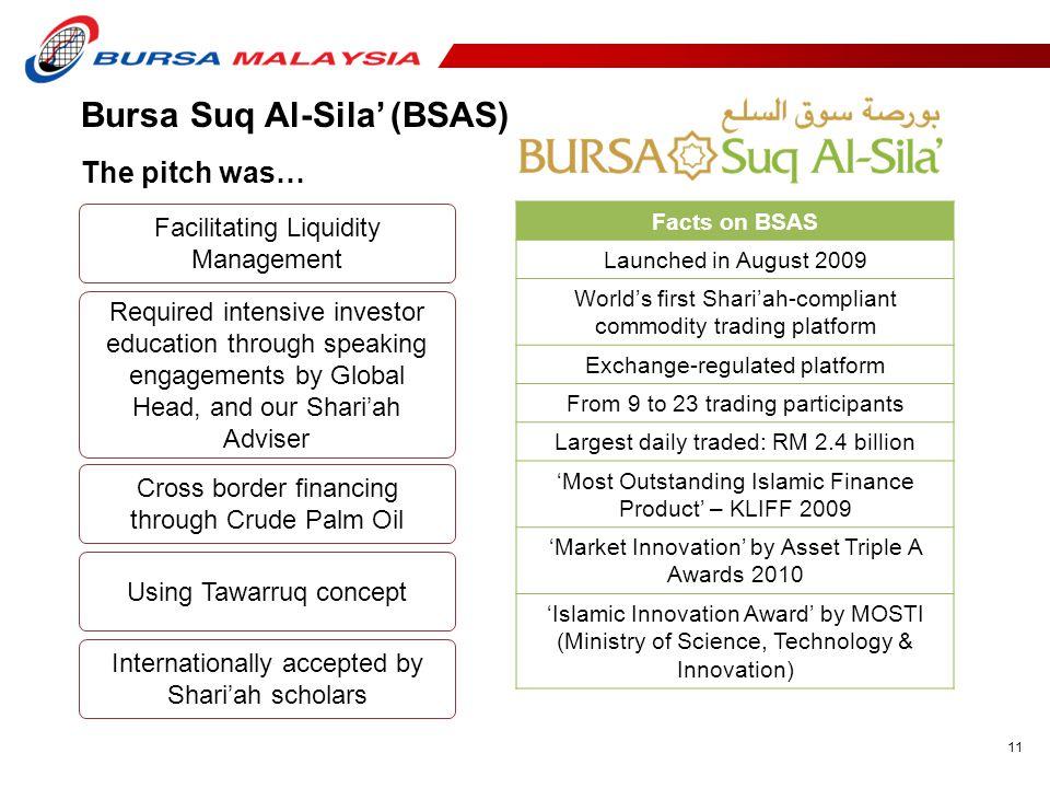 Bursa Suq Al-Sila' (BSAS)