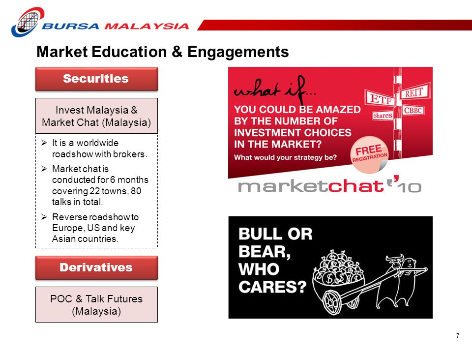 Market Education & Engagements