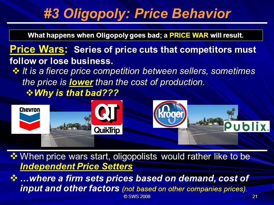 #3 Oligopoly: Price Behavior