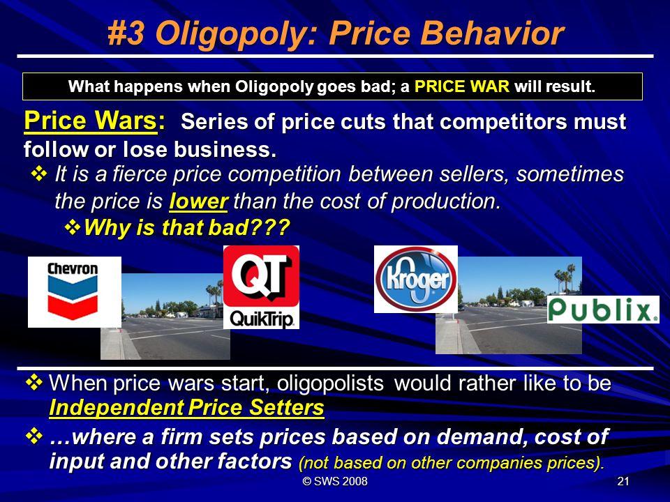 #3 Oligopoly: Price Behavior