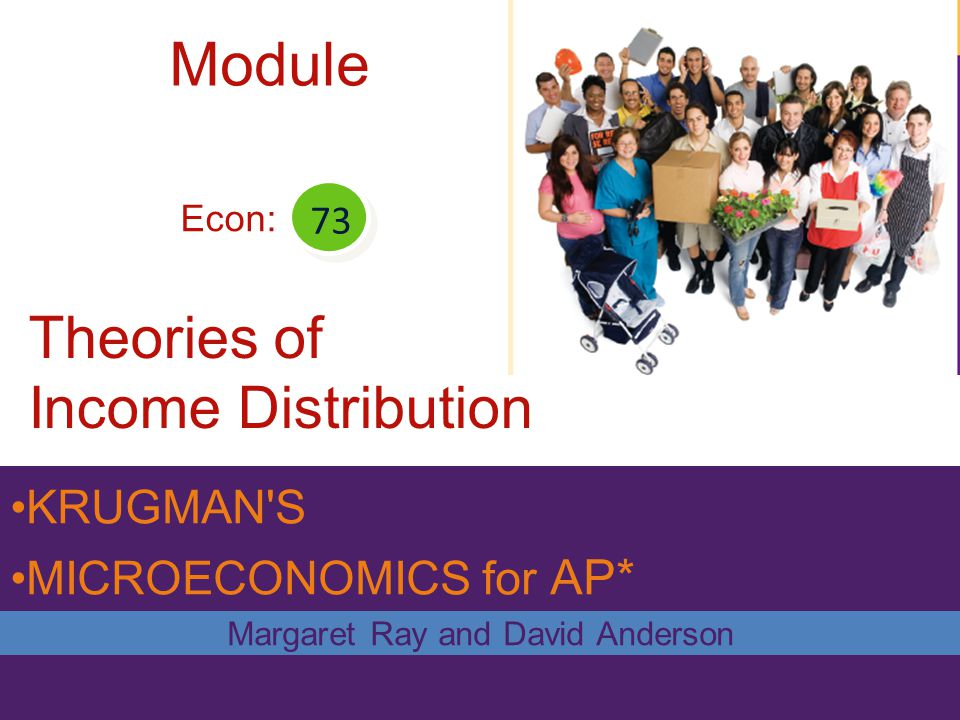 Theories of Income Distribution