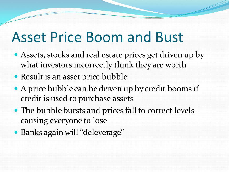 Asset Price Boom and Bust