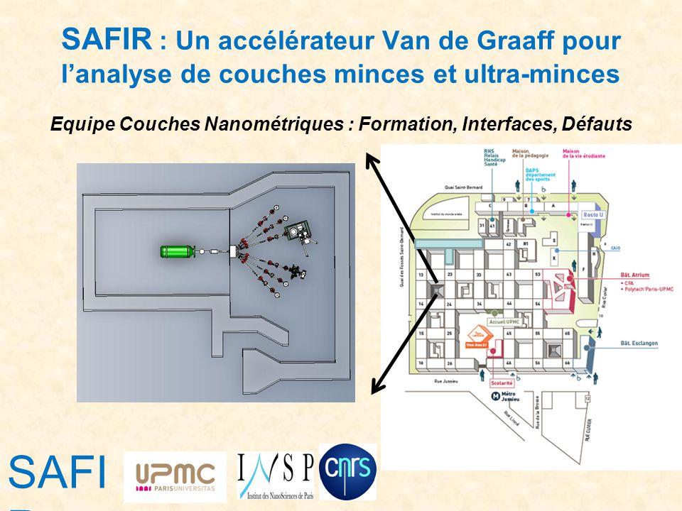 Equipe Couches Nanométriques : Formation, Interfaces, Défauts