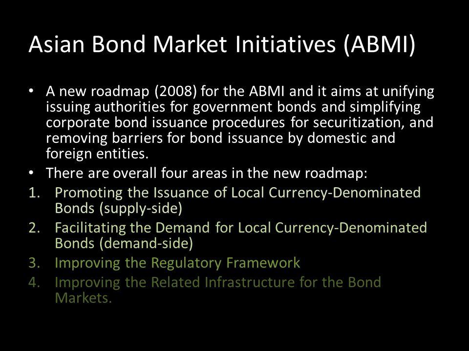 Asian Bond Market Initiatives (ABMI)