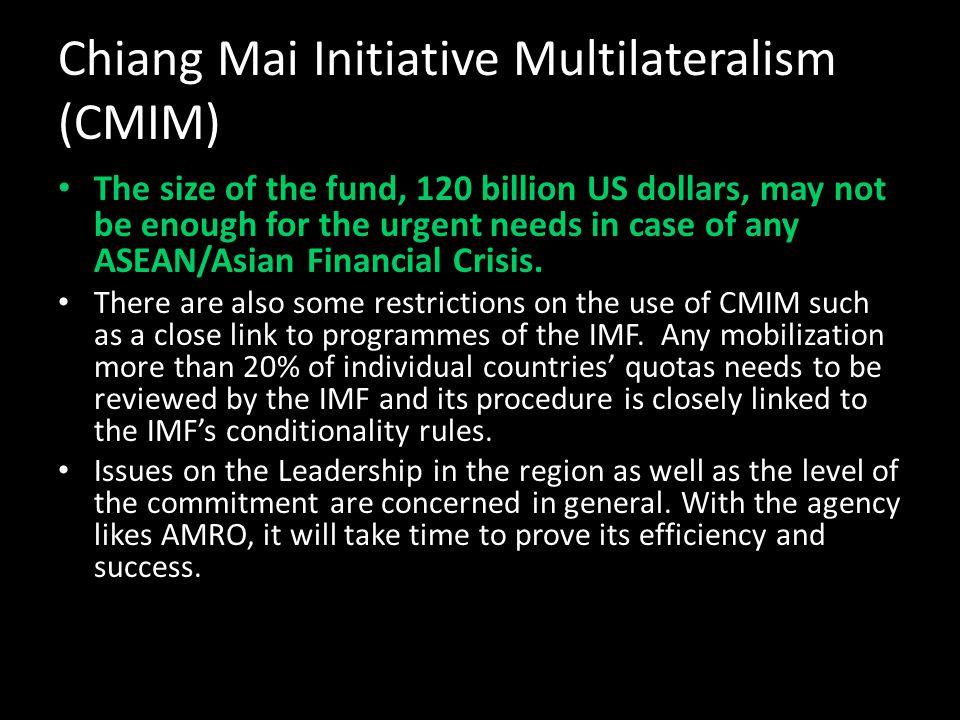 Chiang Mai Initiative Multilateralism (CMIM)