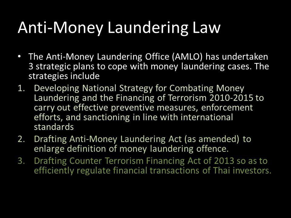 Anti-Money Laundering Law