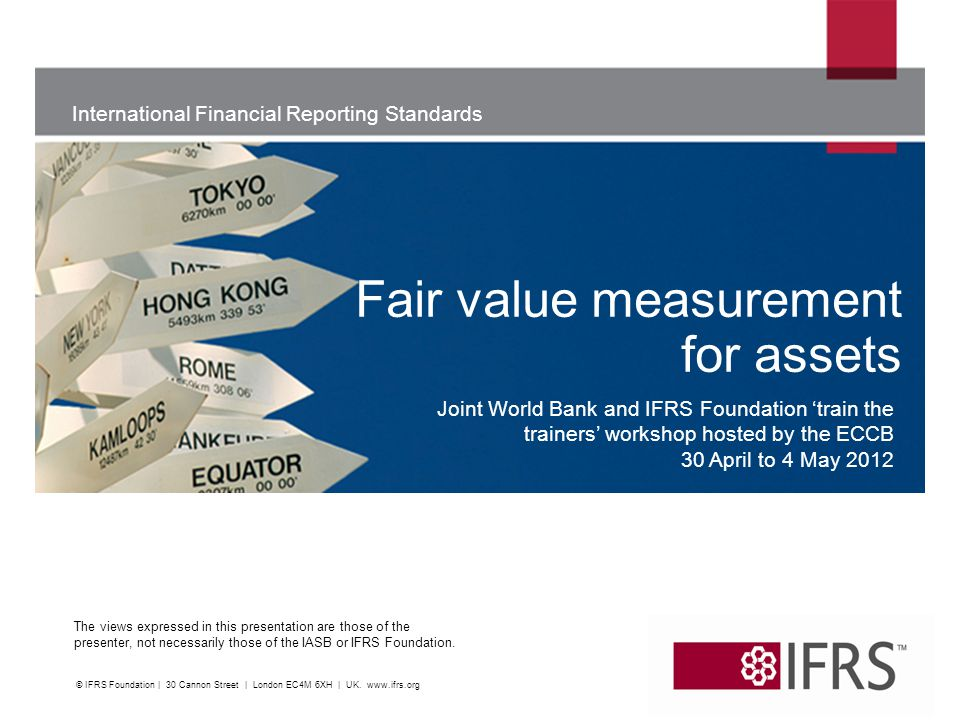 Fair value measurement for assets