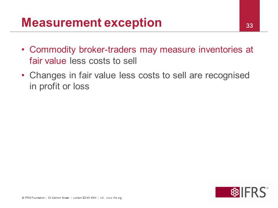 Measurement exception