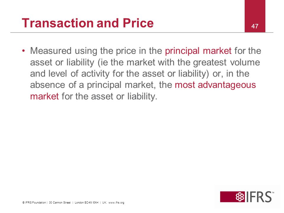 Transaction and Price