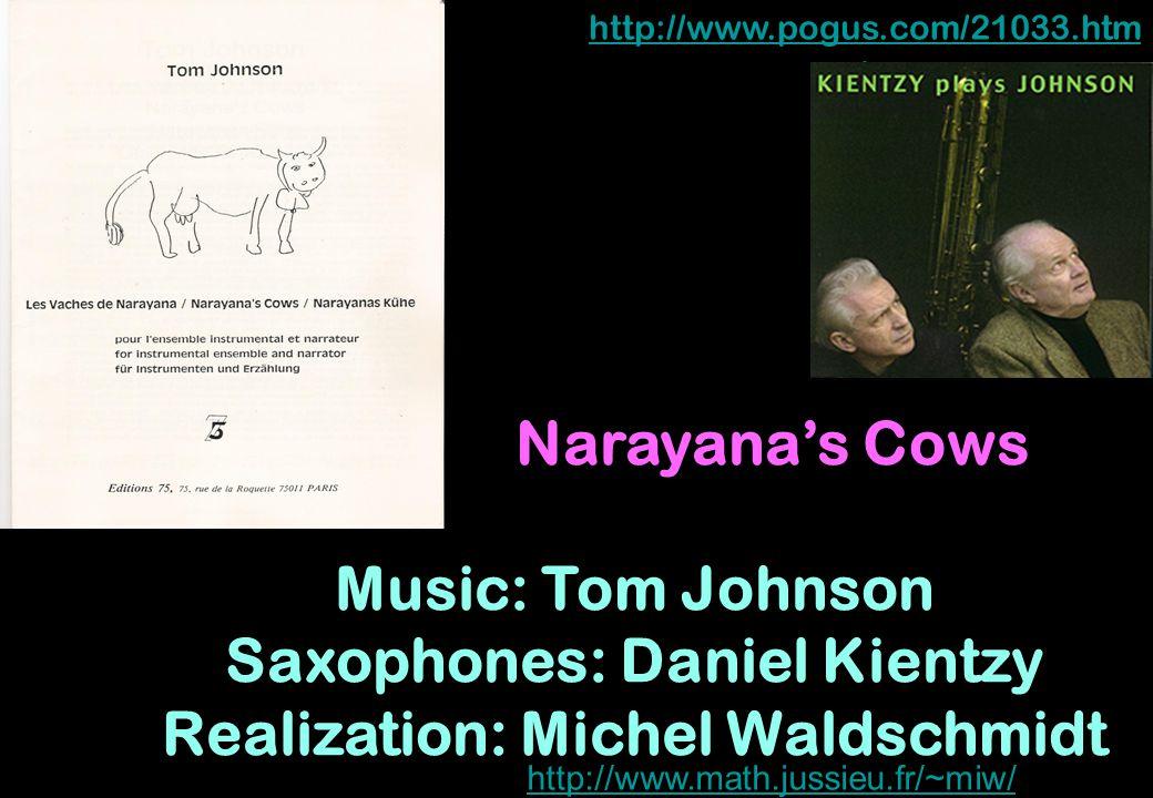 Saxophones: Daniel Kientzy Realization: Michel Waldschmidt