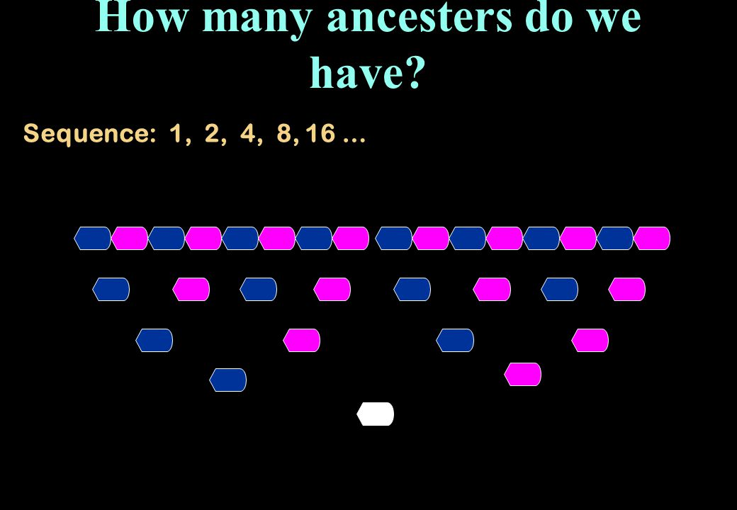 How many ancesters do we have